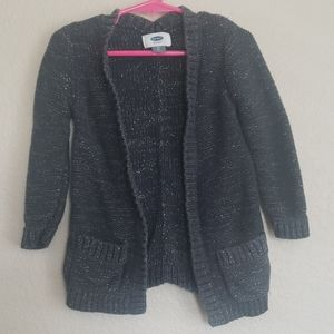 Old Navy knit cardigan sweater open front
